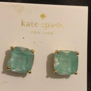 Kate Spade Square Stud Earrings NWT
